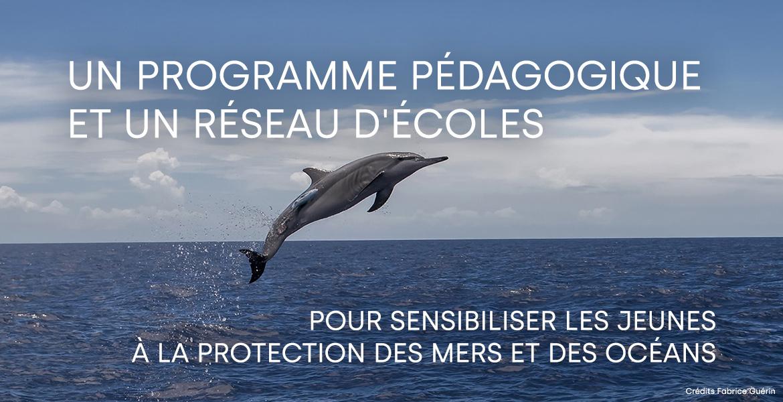 Un programme pédagogique et un réseau d'écoles pour sensibiliser les jeunes à la protection des mers et des océans